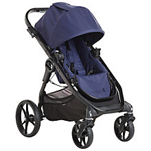 Buy Baby Jogger City Premier Stroller, Indigo Online at johnlewis.com
