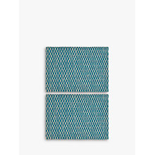 Buy John Lewis Fusion Asian East Placemat, Set of 2, Teal Online at johnlewis.com