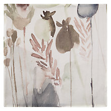 Buy John Lewis Croft Collection Linen Napkin, Watercolour Online at johnlewis.com