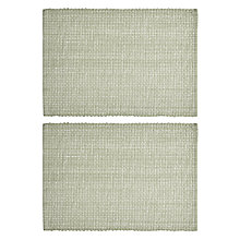 Buy John Lewis Croft Collection Placemats, Set of 2, Sorrel Online at johnlewis.com