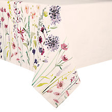 Buy John Lewis Leckford Print Tablecloth Online at johnlewis.com