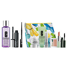 Buy Clinique Mascara, Eyeliner and Makeup Remover with Summer Bonus Time Gift Online at johnlewis.com