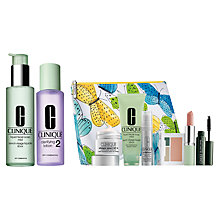 Buy Clinique Clarifying Lotion and Facial Soap with Summer Bonus Time Gift Online at johnlewis.com