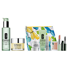 Buy Clinique Facial Soap and Moisturiser with Summer Bonus Time Gift Online at johnlewis.com