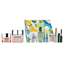 Buy Clinique Eye Treatment and Moisturiser with Summer Bonus Time Gift Online at johnlewis.com