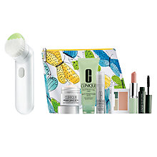Buy Clinique Sonic Cleansing Brush with Summer Bonus Time Gift Online at johnlewis.com