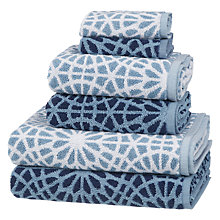Buy Christy Patterned Towel Bale Online at johnlewis.com
