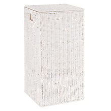 Buy John Lewis Paper Rope Single Laundry Basket Online at johnlewis.com