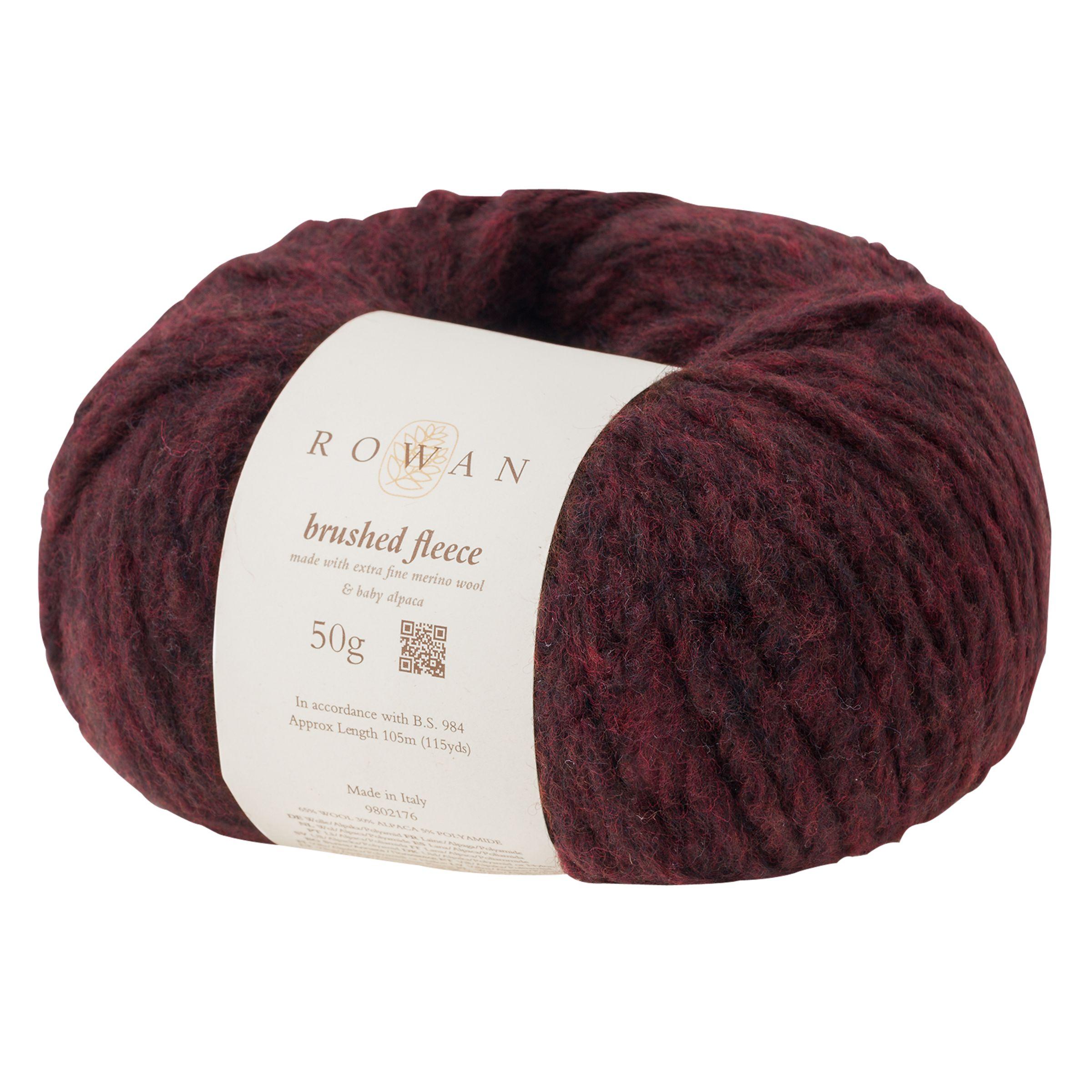 Rowan Rowan Brushed Fleece Chunky Yarn, 50g
