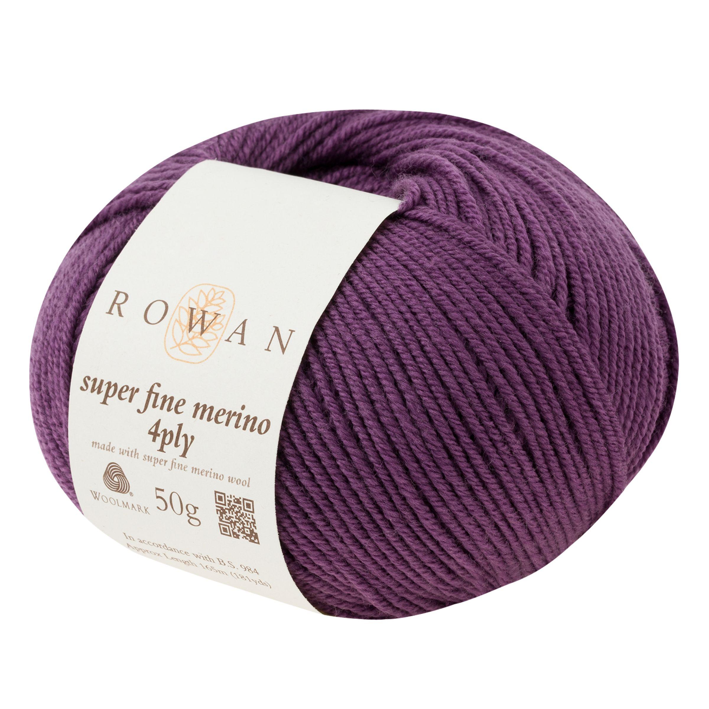 Rowan Rowan Super Fine Merino 4 Ply Yarn, 50g