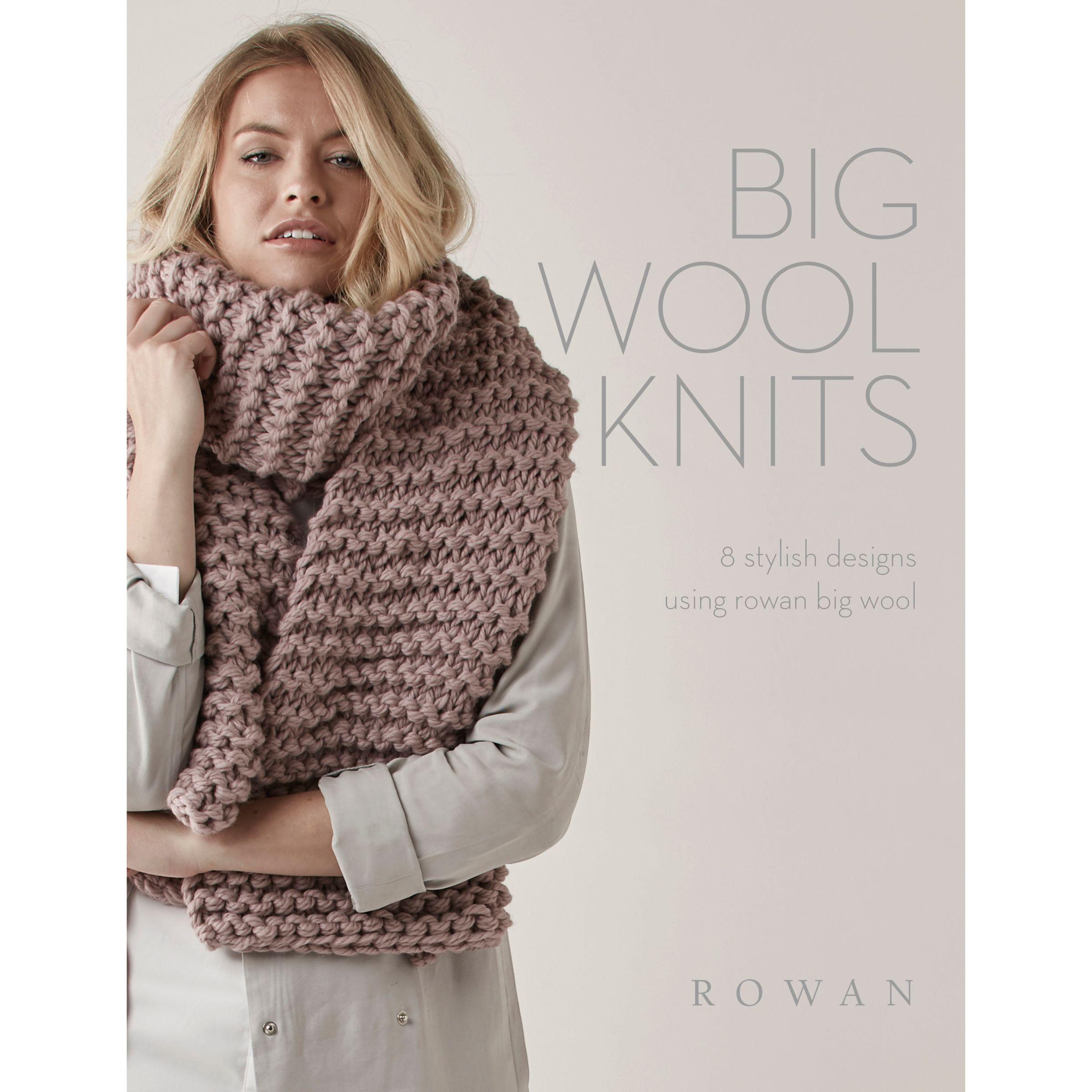 Rowan Rowan Big Wool Knits Knitting Pattern Brochure