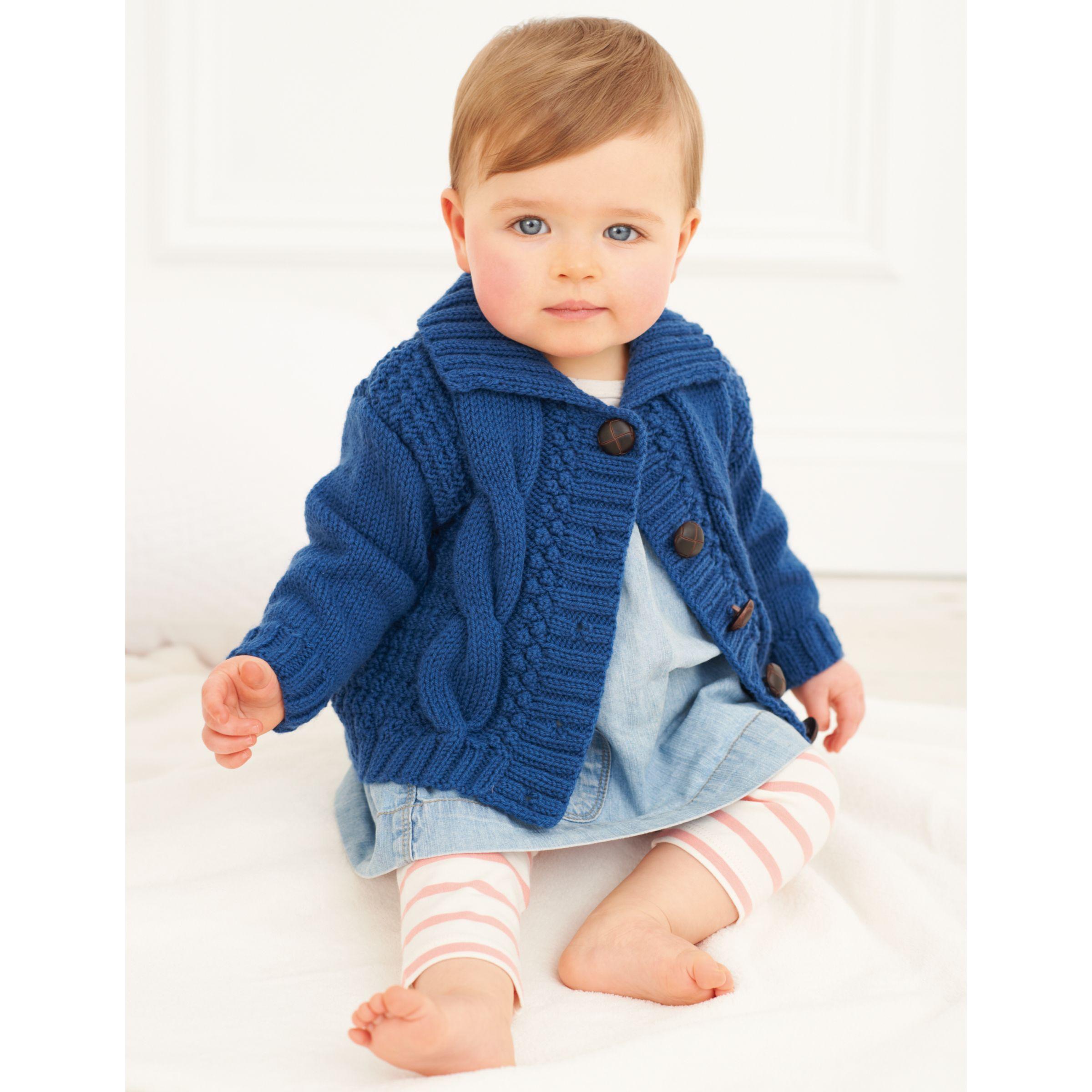 Buy Rico Baby Classic DK Cardigan Knitting Pattern, 197 ...