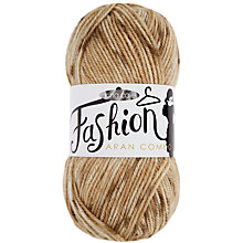 Buy King Cole Fashion Aran Combo Yarn, 100g Online at johnlewis.com