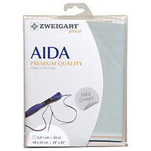 Buy Zweigart Aida 14ct Embroidery Fabric Online at johnlewis.com