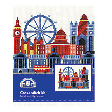 Buy DMC Creative London City Cross Stitch Kit Online at johnlewis.com