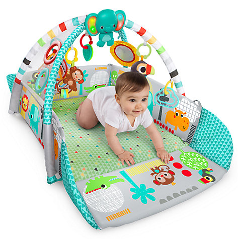 buy bright starts 5 in 1 ball activity play gym john lewis. Black Bedroom Furniture Sets. Home Design Ideas