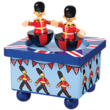 Buy Orange Tree Wooden Soldier Music Box Online at johnlewis.com