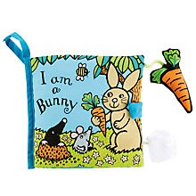Buy Jellycat I Am A Bunny Soft Book Online at johnlewis.com
