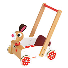 Buy Janod Crazy Rabbit Cart Online at johnlewis.com