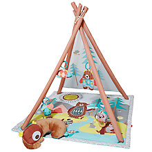 Buy Skip Hop Camping Cubs Tipi Activity Mat Online at johnlewis.com