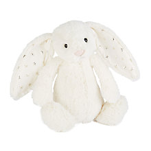 Buy Jellycat Bashful Twinkle Bunny, Small Online at johnlewis.com