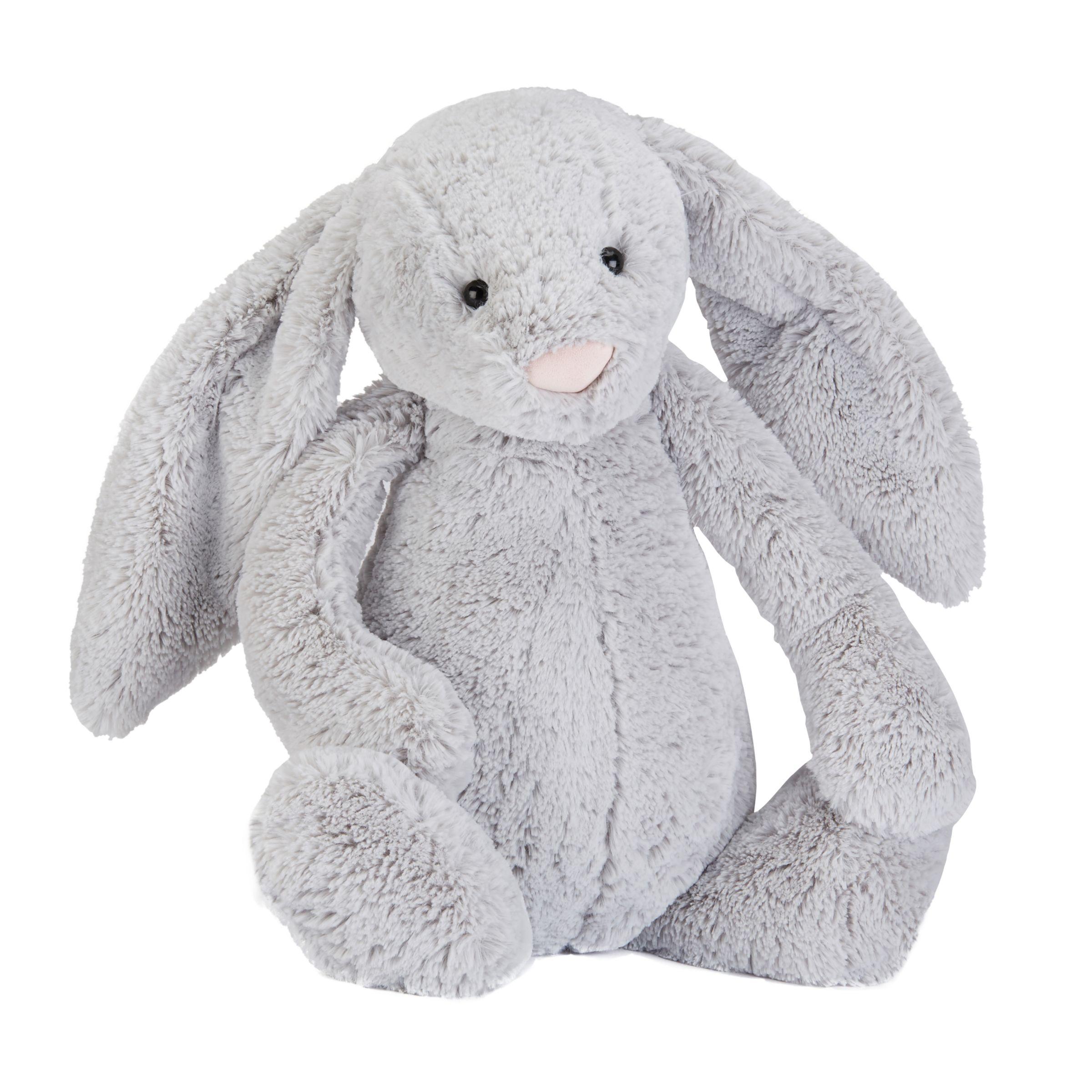 Jellycat Jellycat Bashful Silver Bunny Soft Toy, X-Large