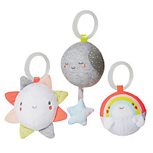 Buy Skip Hop Silver Lining Cloud Ball Trio Online at johnlewis.com