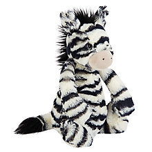 Buy Jellycat Bashful Zebra, Medium Online at johnlewis.com