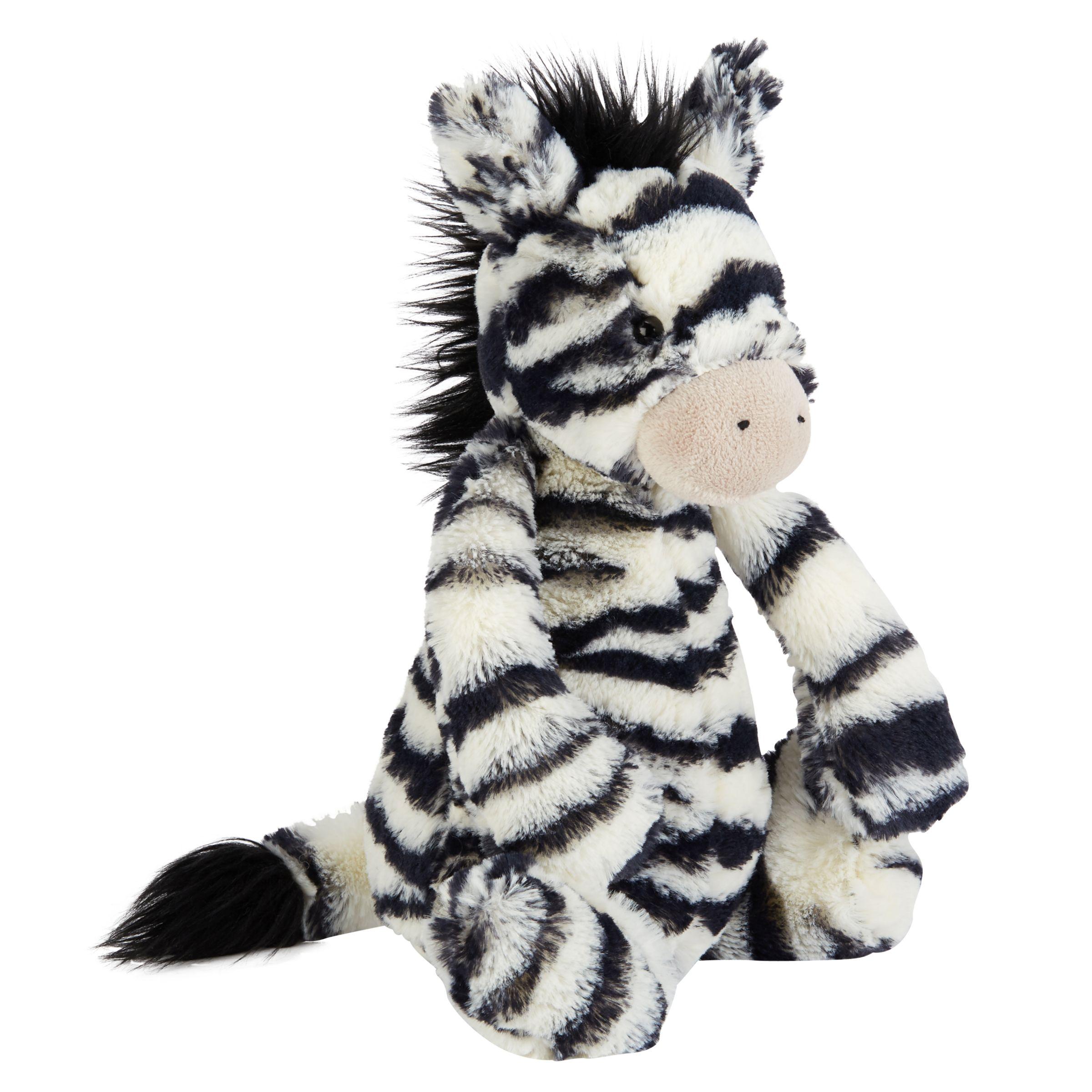 Jellycat Jellycat Bashful Zebra Soft Toy, Medium