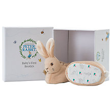 Buy Peter Rabbit Baby's First Booties, Onesize Online at johnlewis.com