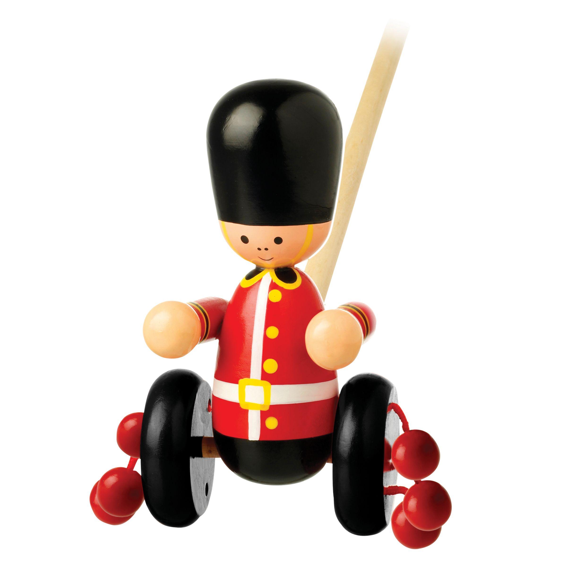 Orange Tree Orange Tree Baby Soldier Push Along Wooden Toy