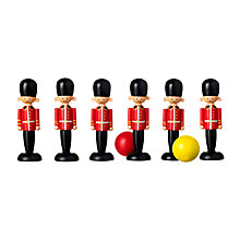 Buy Orange Tree Soldier Wooden Toy Skittles Online at johnlewis.com