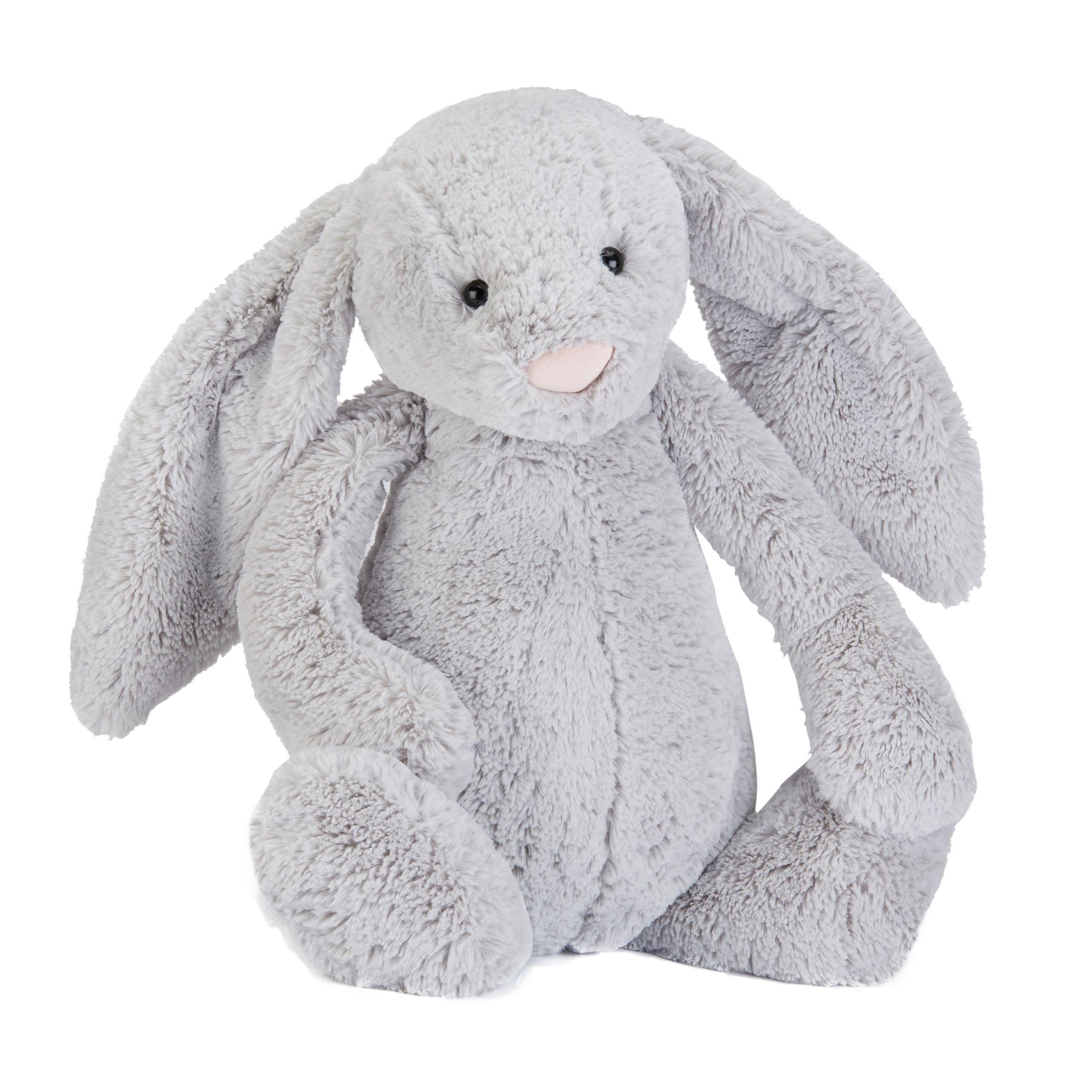 Jellycat Jellycat Bashful Silver Bunny Soft Toy, Large