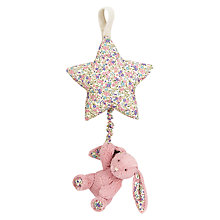 Buy Jellycat Blossom Bunny Musical Pull Soft Toy Online at johnlewis.com