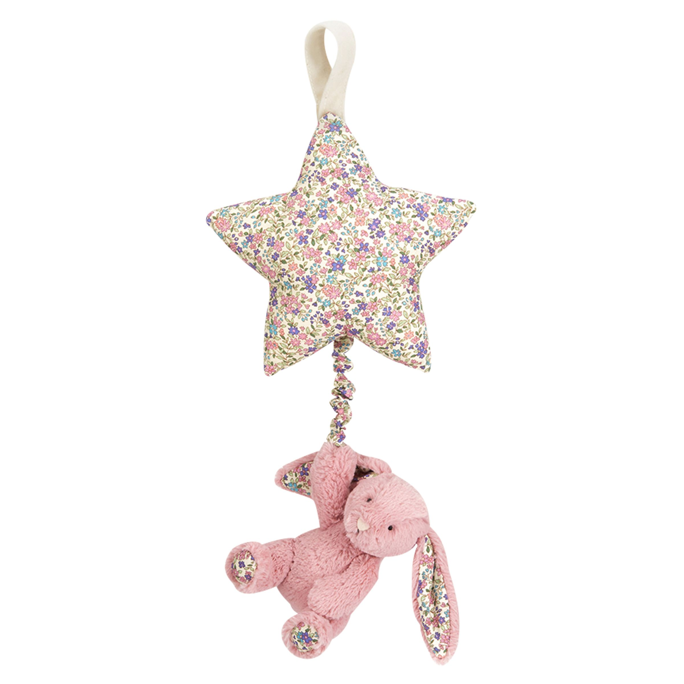 Jellycat Jellycat Blossom Bunny Musical Pull Soft Toy