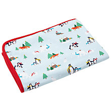 Buy John Lewis Baby Christmas Swaddle Blanket Online at johnlewis.com