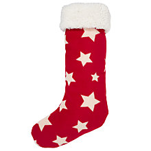 Buy John Lewis Multi Star Stocking Online at johnlewis.com