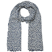 Buy East Vida Bubble Scarf, Cream Online at johnlewis.com