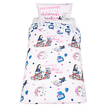 Buy Roald Dahl Matilda Bookworm Duvet Cover and Pillowcase Set, Single Online at johnlewis.com