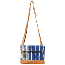 Buy White Stuff Lizzie Mini Cross Body Bag, Blue/Multi Online at johnlewis.com