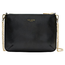 Buy Ted Baker Soraya Exotic Leather Across Body Bag Online at johnlewis.com