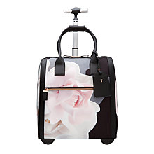 Buy Ted Baker Odina Porcelain Rose Travel Bag, Black Online at johnlewis.com