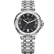 Buy Maurice Lacroix AI1006-SS002-330-1 Men's Stainless Steel Bracelet Strap Watch, Steel Online at johnlewis.com