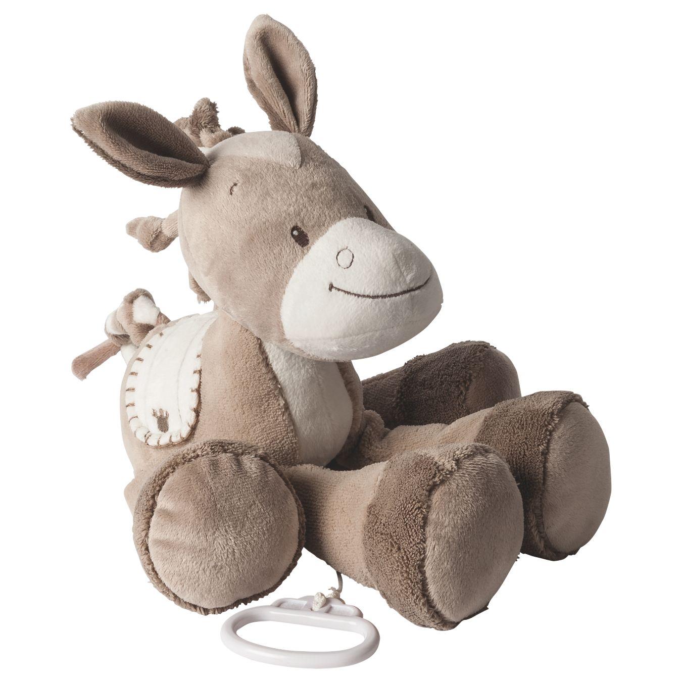 Nattou Nattou Musical Noa The Horse Soft Toy