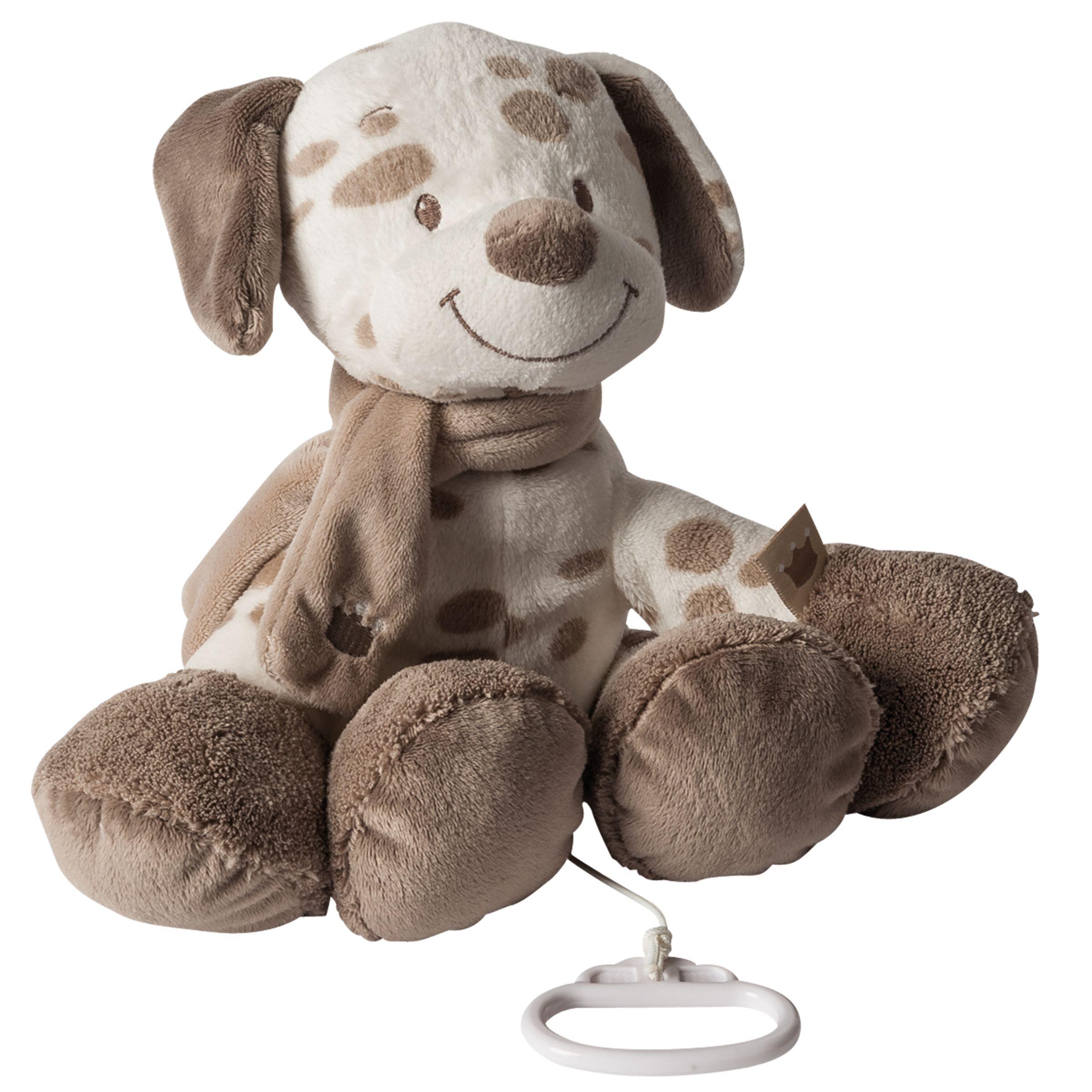 Nattou Nattou Musical Max The Dog Soft Toy