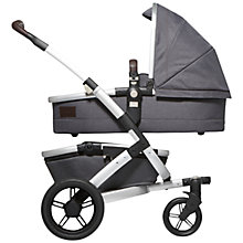 Buy Joolz Geo Mono Ridge Exclusive Pushchair with Carrycot, Grey Online at johnlewis.com