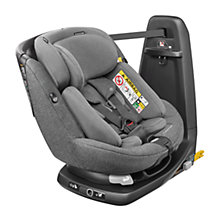 Buy Maxi-Cosi AxissFix Plus Group 0+ and 1 Car Seat, Sparkling Grey Online at johnlewis.com
