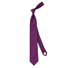 Buy Thomas Pink Whitby Flower Silk Tie Online at johnlewis.com