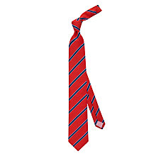 Buy Thomas Pink Sudbury Stripe Silk Tie Online at johnlewis.com