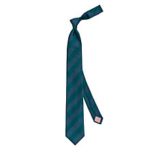 Buy Thomas Pink Hughes Stripe Silk Tie Online at johnlewis.com